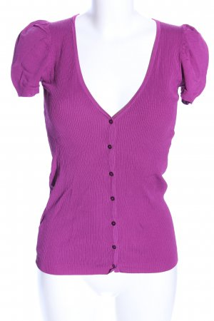 Mango Basics Geribd shirt roze casual uitstraling