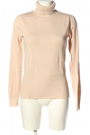 Mango Basics Rollkragenpullover creme Business-Look