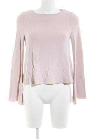 Mango Basics Rundhalspullover pink Casual-Look