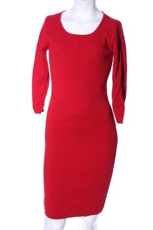Mango Basics Vestido de tubo rojo elegante