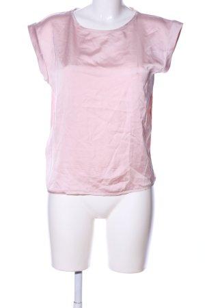 Mango Basics Schlupf-Bluse pink Casual-Look