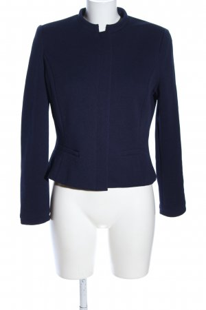 Mango Basics Shirtjacke blau Business-Look