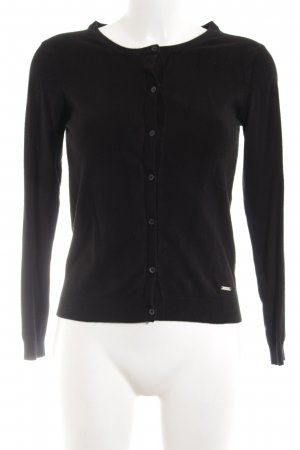 Mango Basics Shirtjacke schwarz Casual-Look