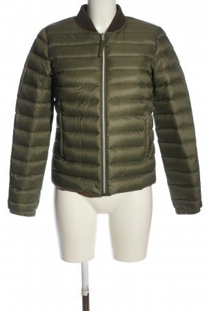 Mango Basics Steppjacke khaki Steppmuster Casual-Look