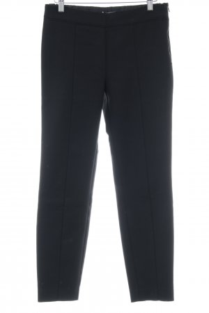 Mango Basics Stoffhose schwarz Business-Look