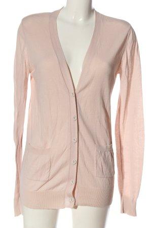 Mango Basics Strick Cardigan pink Casual-Look