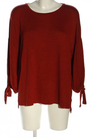 Mango Basics Strickpullover rot Casual-Look