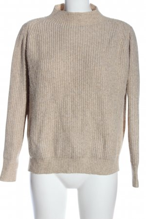 Mango Basics Strickpullover wollweiß Casual-Look