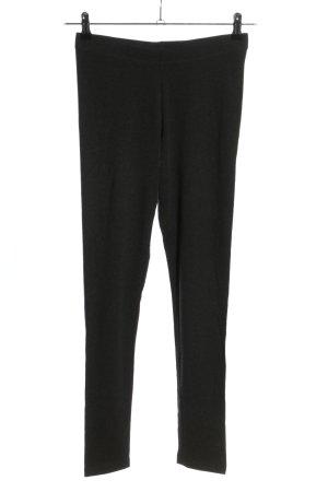 Mango Basics Pantalon de jogging gris clair moucheté style décontracté