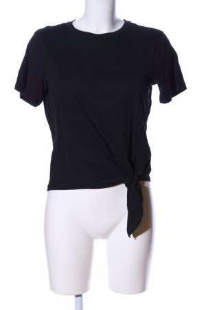 Mango Basics T-Shirt schwarz Casual-Look