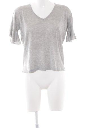 Mango Basics T-Shirt hellgrau Casual-Look