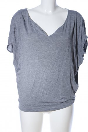 Mango Basics T-Shirt hellgrau meliert Casual-Look