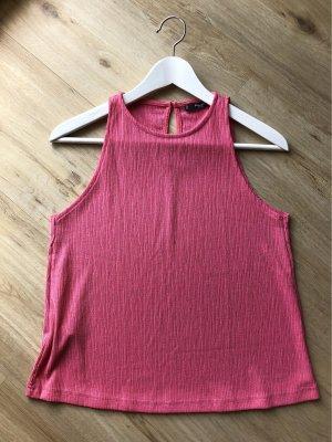 MANGO basics Top rosa Größe S