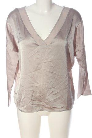 Mango Basics V-hals shirt room casual uitstraling