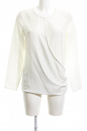 Mango Basics Wickel-Bluse creme Business-Look