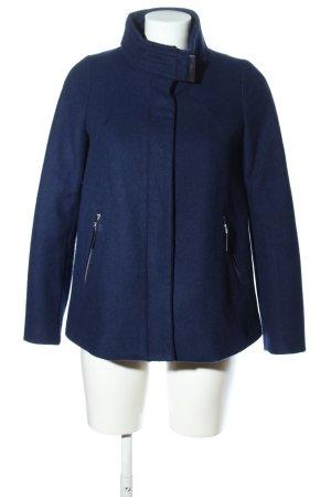 Mango Basics Wolljacke blau Casual-Look