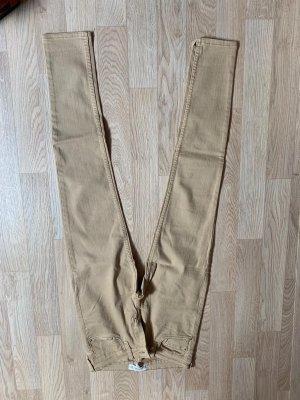 Mango beige jeans hose