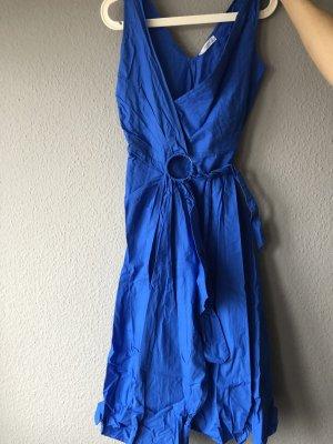 Mango Robe portefeuille bleu