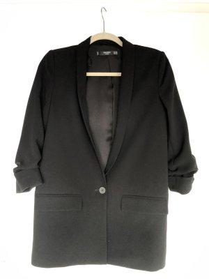 Mango Long Blazer black