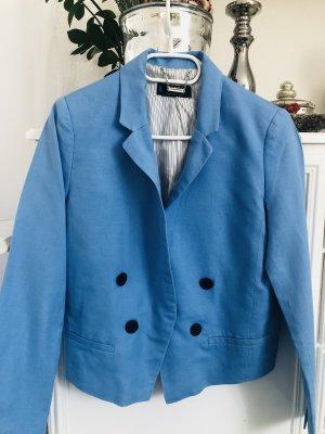 Mango-Blazer / blau / Gr. M