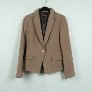Mango Blazer court beige-or rose coton