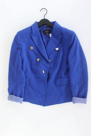 Mango Blazer blauw-neon blauw-donkerblauw-azuur Polyester
