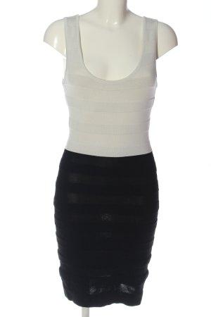 Mango Falda estilo lápiz blanco puro-negro look casual