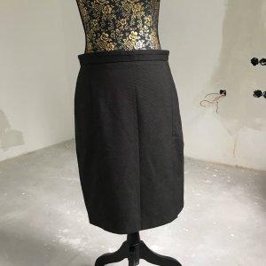 Mango Pencil Skirt taupe