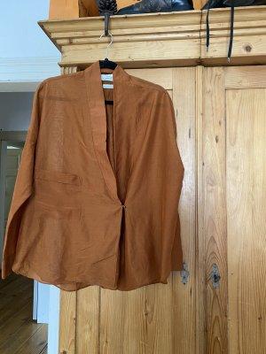 Mango collection Camicia blusa cognac