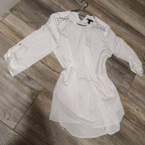 Mango Suit Blusa taglie forti bianco