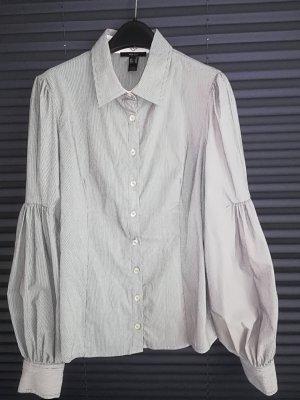 Mango Camicia blusa grigio chiaro