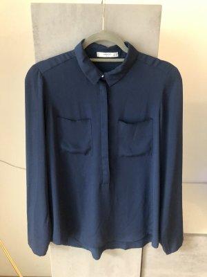 Mango Bluse nachtblau 36