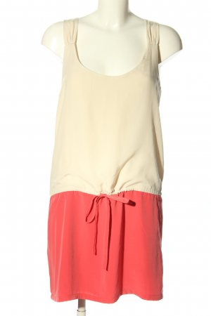 Mango Blusenkleid wollweiß-pink Casual-Look