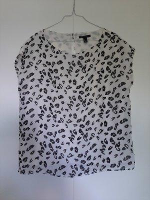 Mango collection T-shirt imprimé multicolore polyester