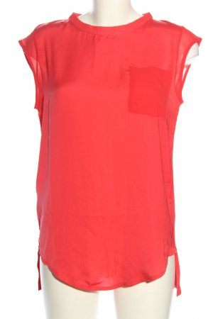 Mango Blouse topje rood casual uitstraling