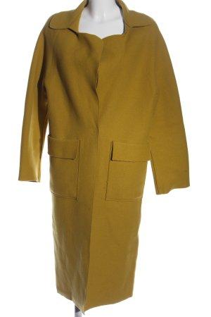 Mango Długi płaszcz khaki W stylu casual