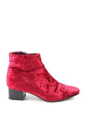 Mango Stivaletto rosa-rosso elegante
