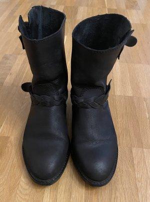 Mango Ankle Boots black