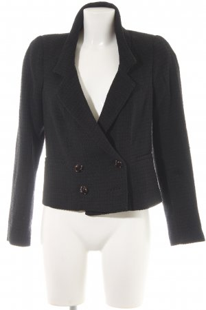 Mango Boyfriend-Blazer schwarz Business-Look