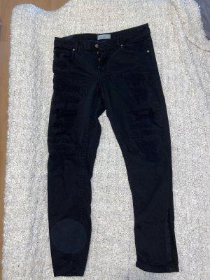 Mango Boyfriend jeans zwart