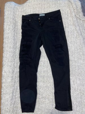 Mango boyfriend Jeans Black used