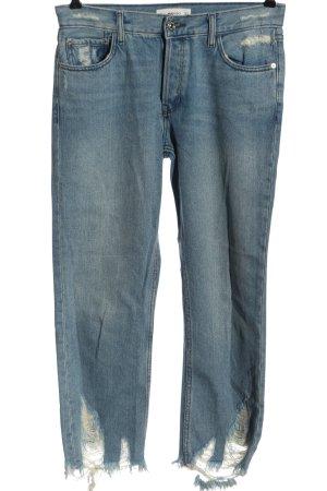 Mango Jeans boyfriend blu stile casual