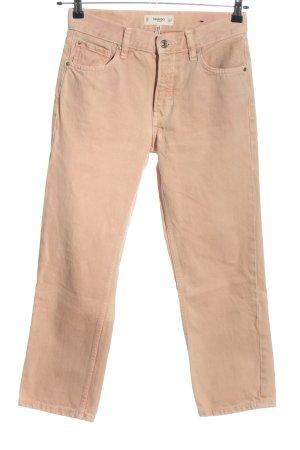 Mango Jeans boyfriend brun style décontracté