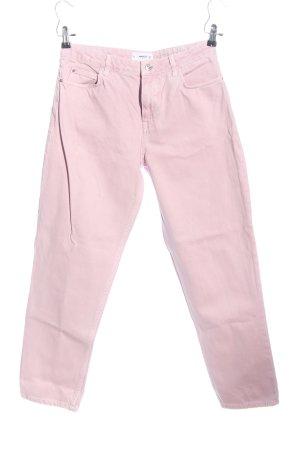 Mango Boyfriendjeans pink Casual-Look