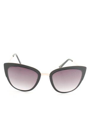 Mango Glasses black-gold-colored elegant