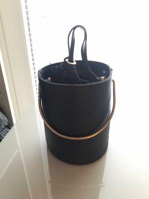 Mango Bucket Bag schwarz NEU