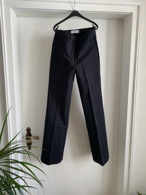 Mango Pantalón de pinza negro