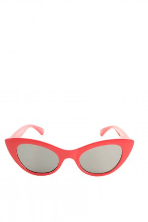 Mango Butterfly Brille rot Casual-Look
