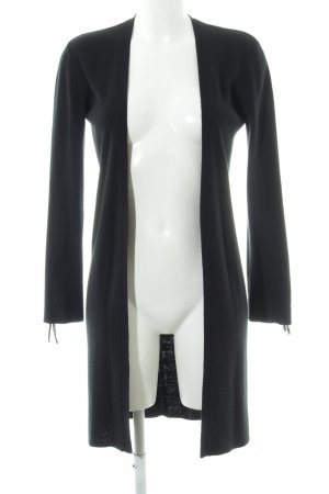 Mango Cardigan schwarz Elegant