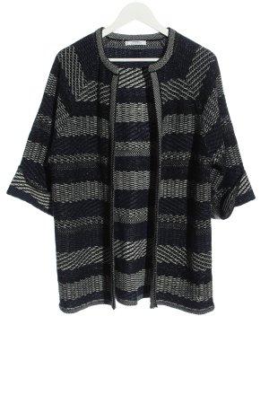 Mango Cardigan schwarz-weiß Streifenmuster Casual-Look